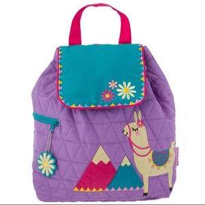 New Llama Toddler Girl's Backpack Animal Bag NWT